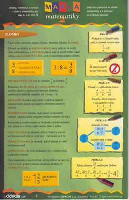 Obrázok Mapka matematiky 2.díl