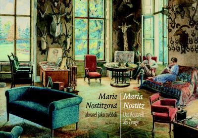 Obrázok Marie Nostitzová akvarel jako svědek / Das Aquarell als Zeuge