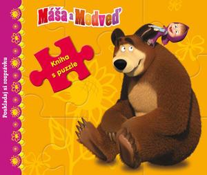 Obrázok Máša a Medveď Kniha s puzzle