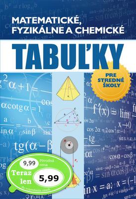 Obrázok Matematické, fyzikálne a chemické tabuľky pre stredné školy