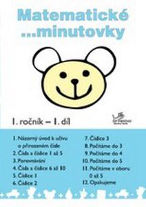 Obrázok Matematické minutovky 1. ročník / 1. díl