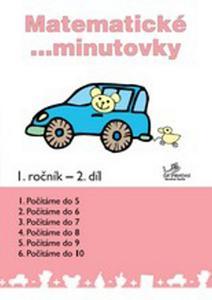 Obrázok Matematické minutovky 1. ročník / 2. díl