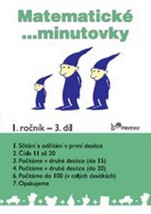 Obrázok Matematické minutovky 1. ročník / 3. díl