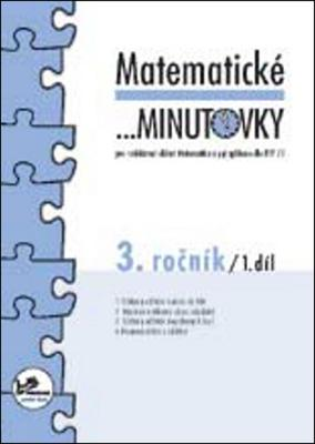 Obrázok Matematické minutovky 3. ročník / 1. díl