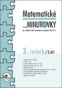 Obrázok Matematické minutovky 3. ročník / 2. díl
