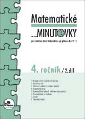 Obrázok Matematické minutovky 4. ročník / 2. díl