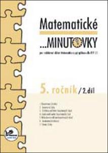 Obrázok Matematické minutovky 5. ročník / 2. díl