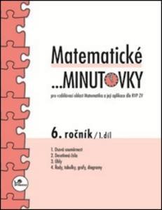 Obrázok Matematické minutovky 6. ročník / 1. díl