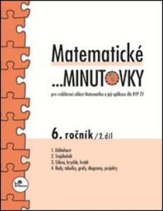 Obrázok Matematické minutovky 6. ročník / 2. díl