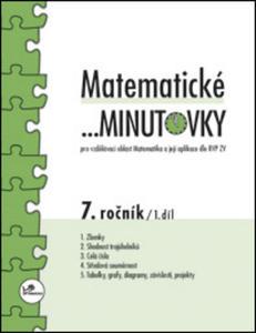 Obrázok Matematické minutovky 7. ročník / 1. díl