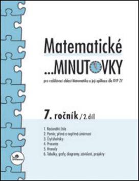 Matematické minutovky 7. ročník / 2. díl - Miroslav Hricz