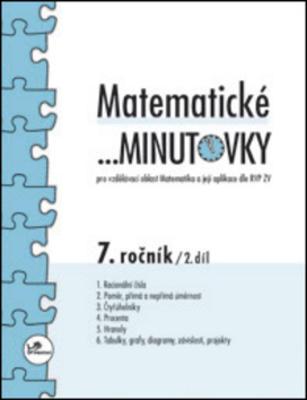 Obrázok Matematické minutovky 7. ročník / 2. díl