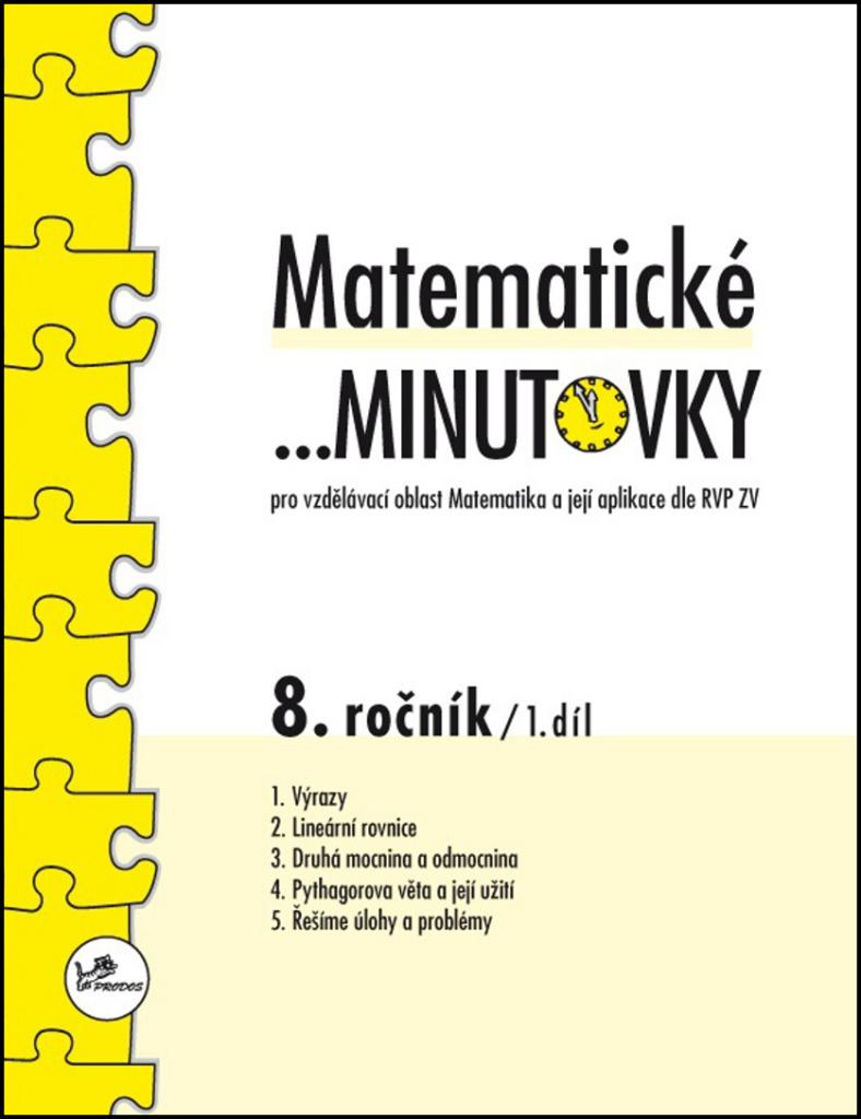 Matematické minutovky 8. ročník / 1. díl - Miroslav Hricz