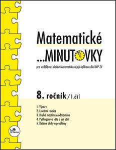 Obrázok Matematické minutovky 8. ročník / 1. díl