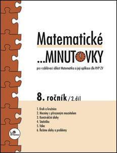 Obrázok Matematické minutovky 8. ročník / 2. díl