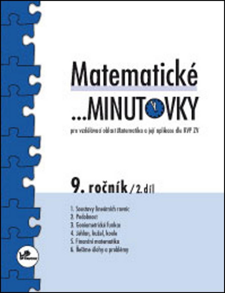 048d4e0fa12 Matematické minutovky 9. ročník   2. díl - Miroslav Hricz