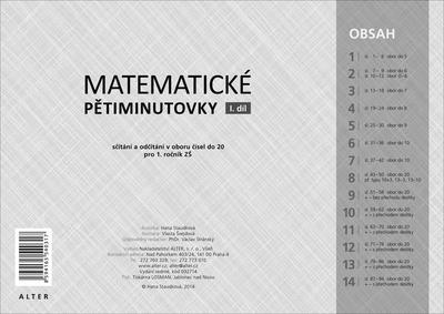 Obrázok Matematické pětiminutovky 1. díl