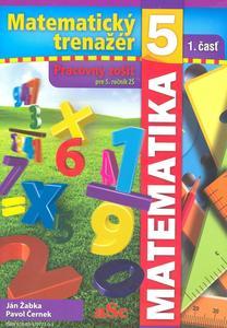 Obrázok Matematický trenažér 5 - 1. časť
