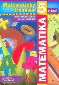 Obrázok Matematický trenažér 5 - 2. časť