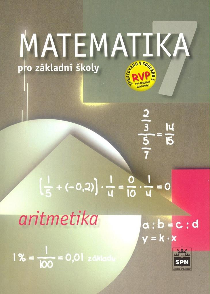 Matematika 7 pro základní školy Aritmetika - Michal Čihák, Zdeněk Půlpán