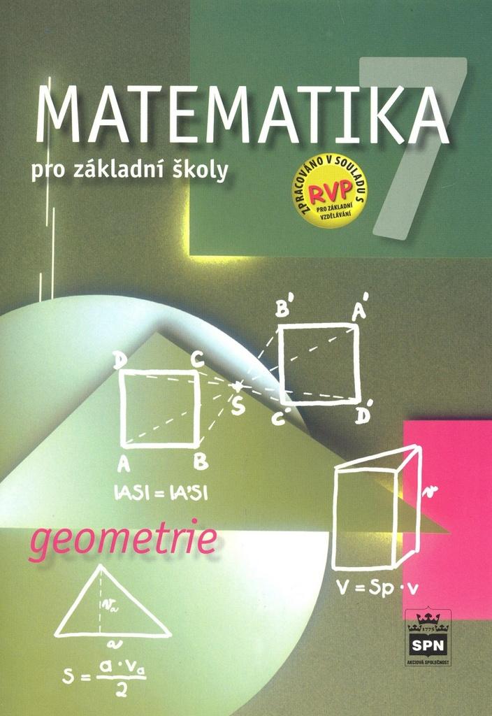 Matematika 7 pro základní školy Geometrie - Michal Čihák, Zdeněk Půlpán