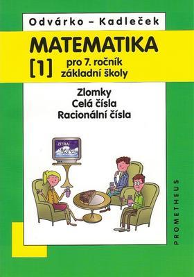 Obrázok Matematika pro 7.roč.ZŠ,1.díl