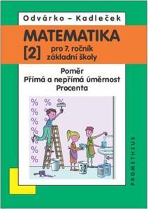 Obrázok Matematika 2 pro 7. ročník základní školy