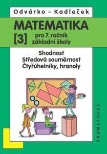 Obrázok Matematika 3 pro 7. ročník základní školy
