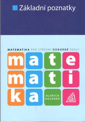 Obrázok Matematika Základní poznatky