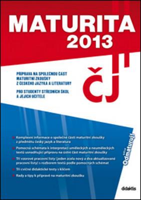 Obrázok Maturita 2013 Český jazyk a literatura