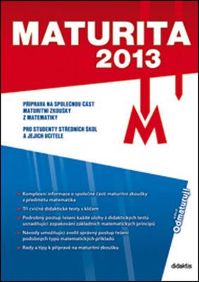 Obrázok Maturita 2013 Matematika