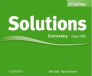 Obrázok Maturita Solutions 2nd Edition Elemementary Class Audio Cds