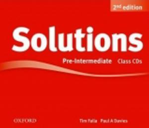 Obrázok Maturita Solutions 2nd Edition Pre-Intermediate Class Audio Cds