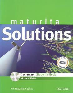 Maturita Solutions Elementary Student´s Book + CD CZ edition