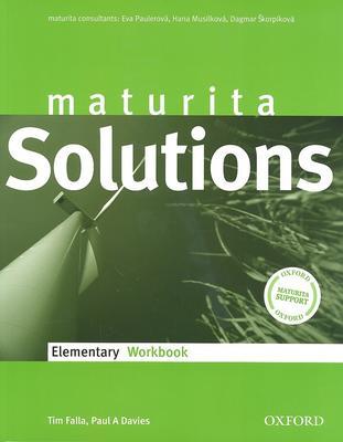 Maturita Solutions Elementary Workbook Czech edittion