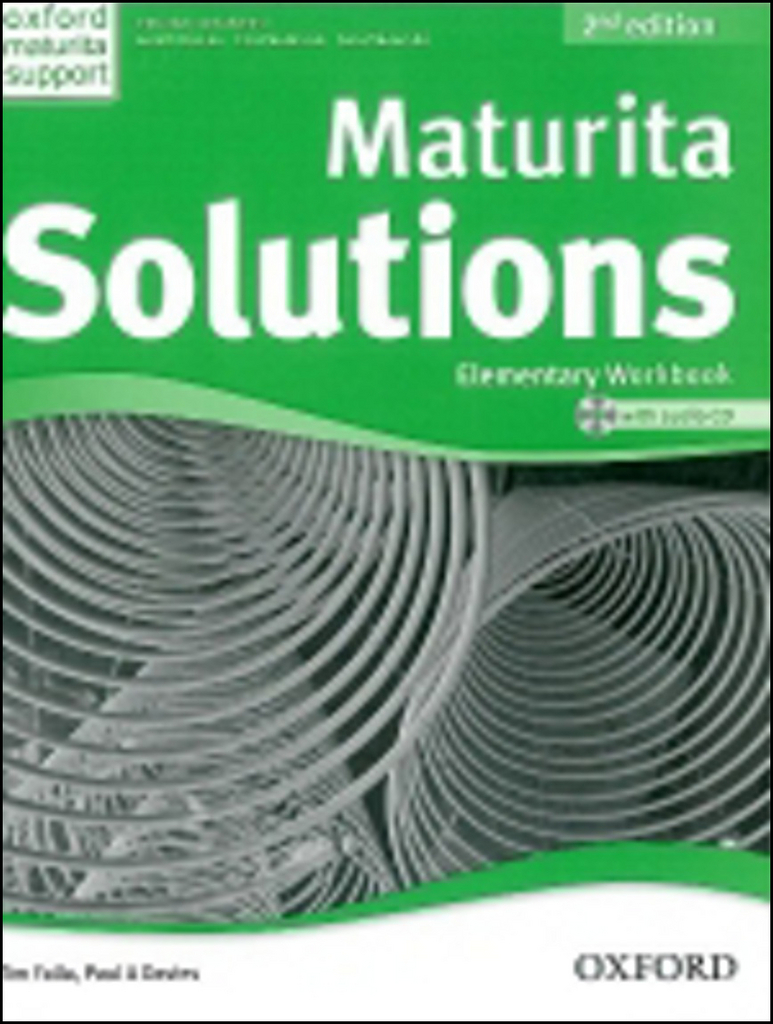 Maturita Solutions Elementary Workbook with Audio CD PACK Czech Edition (2nd Edition) - P.A. Davies, Tim Falla