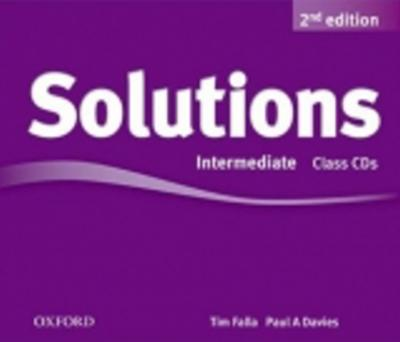 Obrázok Maturita Solutions Intermediate Class Audio Cds (2nd Edition)