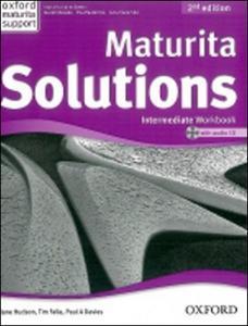Obrázok Maturita Solutions Intermediate  Workbook with Audio CD PACK Czech Edition (2nd Edition)