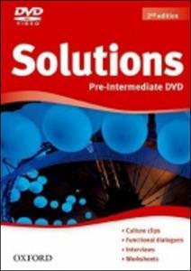 Obrázok Maturita Solutions Pre-Intermediate  DVD 2nd Edition