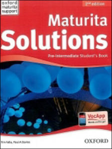 Obrázok Maturita Solutions Pre-Intermediate Student´s Book Czech Edition (2nd Edition)
