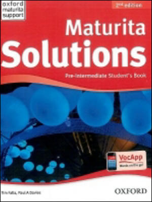 Maturita Solutions Pre-Intermediate Student´s Book Czech Edition (2nd Edition)