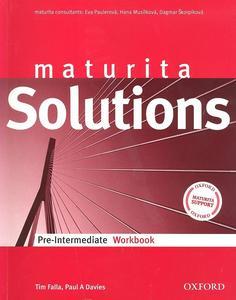 Maturita Solutions pre-intermediate workbook Czech Edition
