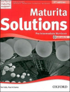 Obrázok Maturita Solutions Pre-Intermediate  Workbook with Audio CD PACK Czech Edition