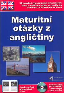 Obrázok Maturitní otázky z angličtiny + CD ROM