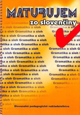 Obrázok Maturujem zo slovenčiny