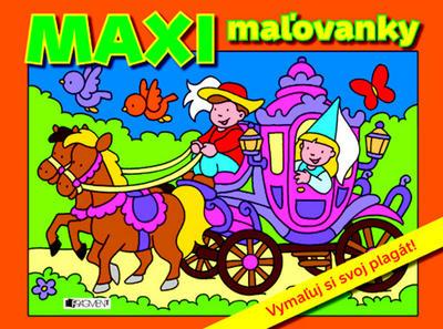 Obrázok MAXI maľovanky