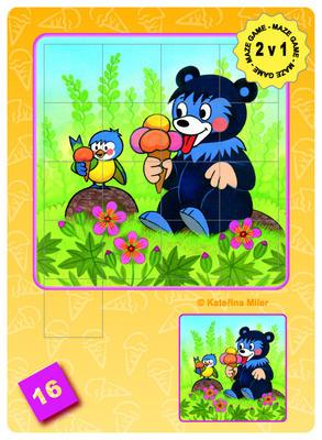 Obrázok Maze Game Medvídek Baribal
