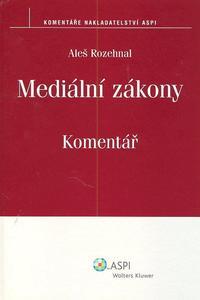 Obrázok Mediální zákony Komentář