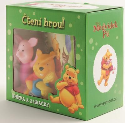 Obrázok Medvídek Pú Čtení hrou! Knížka a 2 hračky