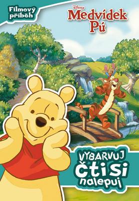 Obrázok Medvídek Pú Filmový příběh Vybarvuj, čti si, nalepuj!